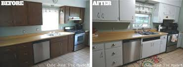 Kitchen Cabinet Door Paint Can I Paint Laminate Kitchen Cabinets Before And After Pictures Of