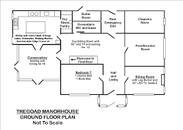 Manor House Floor Plan 18 Bed Manor House Holiday Accommodation In Looe