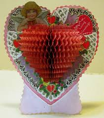 vintage valentine museum maker beistle maker of paper puff