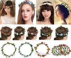 flower hair band 2018 fashion boho silk flower headband women s party