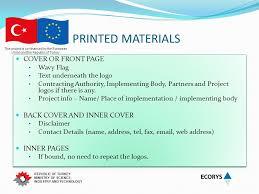 cover page of science project this project is co financed by the european union and the republic
