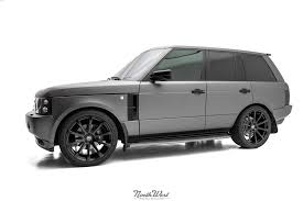 wrapped range rover autobiography overfinch range rover hse vehicle wrap on dpe wheels at nwas