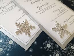 snowflake wedding invitations 1816 best winter wedding invitations images on winter