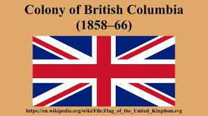 Flag British Columbia Colony Of British Columbia 1858 U201366 Youtube