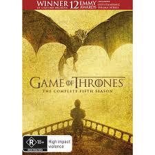 game of thrones season 5 dvd big w