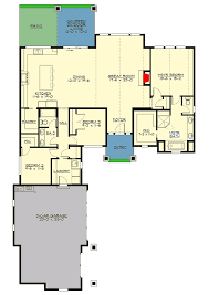 One Level Living Floor Plans Mountain Craftsman With One Level Living 23705jd Architectural