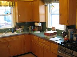 Flat Front Kitchen Cabinets Several Ideas In Repainting Kitchen Cabinets In Simple Ways