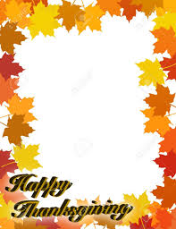 thanksgiving vector art best thanksgiving border 22976 clipartion com