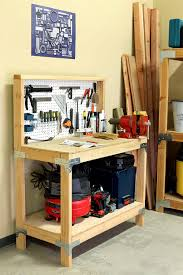 Diy Portable Workbench With Storage Free Plans by Garage Workbench Diy Garagench Cabinet Plansdiy Ideas For