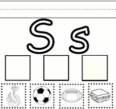 letter s worksheets fun kiddo shelter