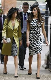 Dresses For Wedding Guests 2011 Kate Middleton Duchess Of Cambridge Is Surprise Guest At Wedding