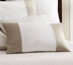 Pottery Barn Lumbar Pillow Covers Linen Lumbar Pillow Cover Pottery Barn