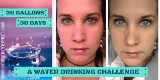 Challenge Of Water 30 Days 30 Gallons A Water Challenge Chiropractor In