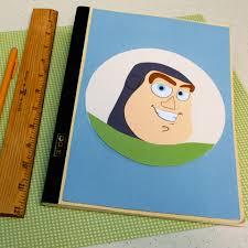 buzz book badge disney family
