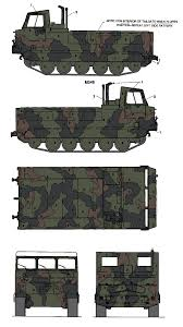 m548 cargo carrier tri color camouflage color profile and paint guide