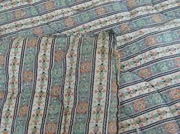 Wool Filled Comforter Old Antique Vintage Wool Filled Comforters Whole Cloth Tied Quilts