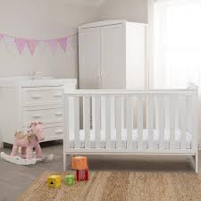 White Nursery Furniture Sets For Sale by Kiddicare Darcy Nursery Furniture Cot Bed Roomset White Kiddicare Com