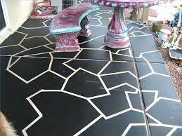 Outdoor Floor Painting Ideas Painted Concrete Patio Floor Ideas Painting Exterior Concrete