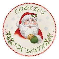 cookies for santa plate lenox cookies for santa plate kitchen dining