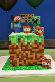12 amazing minecraft birthday cakes catch party
