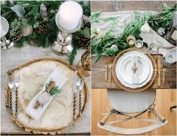 wedding plate settings 30 spectacular winter wedding table setting ideas deer pearl flowers
