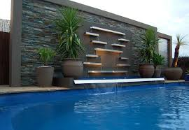modern water features pool water features contemporary pool melbourne by h2o designs
