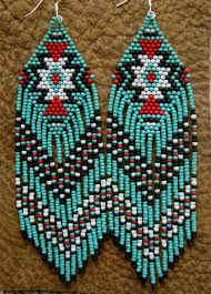 Ruby Red Long Brick Stitch 181 Best Seed Bead Earrings Images On Pinterest Bead Earrings