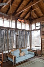 Wood Porch Ceiling Material by Decor Chic Wooden Porch Swings Lowes Gliders In Natural Wooden