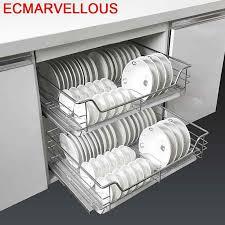kitchen cabinet storage accessories accessories organizer armario de despensa pantry drainer dish stainless steel cocina cuisine rack kitchen cabinet storage basket