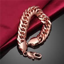 rose gold hand bracelet images Fashion bracelet gold hand chain fashion design rose gold plating jpg
