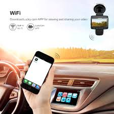 azdome a307 fhd 1920 1080p car dvr camera with wifi 2 45 inch ips