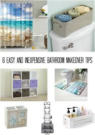 Easy Bathroom Makeover 6 Easy And Inexpensive Bathroom Makeover Tips Mom Knows It All