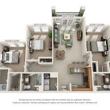 3 bedroom 3 bath floor plans cus view place apartments in sw gainesville fl sw rentals