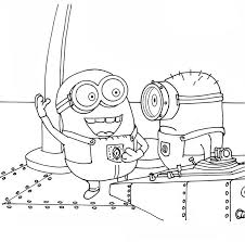 11 minion coloring pages images coloring books