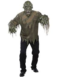 Monster Halloween Costumes by Swamp Monster Costume Buycostumes Com
