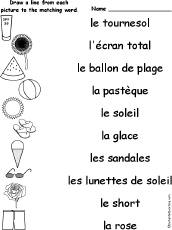 french language activities at enchantedlearning com