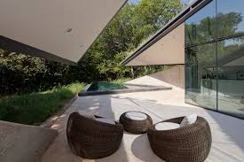 refreshing edgeland house backyard space near lush vegetation