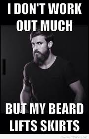 Sexy Meme - feeling with a beard