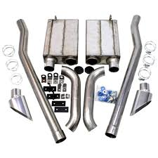 mustang eleanor parts 50 2651 mustang jba side exhaust kit 2 1 2 eleanor style