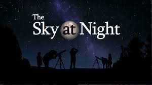 World Map At Night by Bbc Four The Sky At Night
