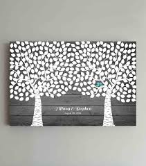 evolution of the wedding guest book into beautiful wall art fort