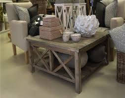 grey washed end tables pure wood furniture coffee table with solid bottom shelf