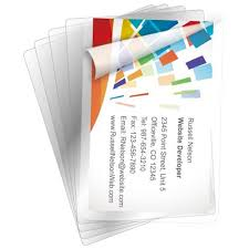business card laminator clear pouch laminating business card size