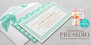 custom invitation dauphine press custom letterpress wedding invitations