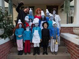 Smurfette Halloween Costume Scare Fun Halloween Group Costume Theme