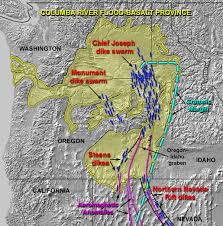 Highly Detailed River Map Of by Columbia River Basalt Group Wikipedia