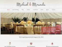 cheap wedding websites 11 best wedding website images on wedding website