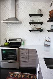 kitchen backsplash classy peel and stick backsplash kits home