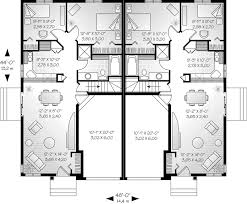 house plans one floor alexandria place duplex home plan 032d 0045 house plans and more