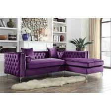 Purple Sectional Sofa Purple Sectional Sofas For Less Overstock